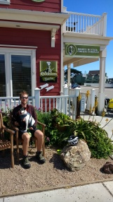 Cookie stop in Cayucos