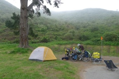 Montana de Oro camp site