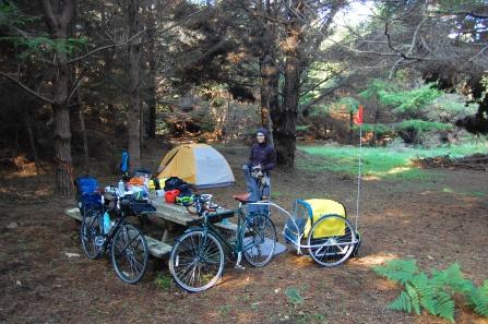 Stillwater campsite