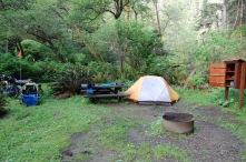 Van Damme campsite
