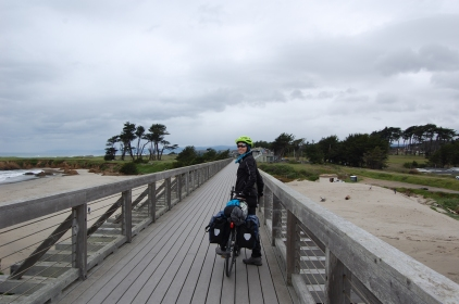 Fort Bragg bike path