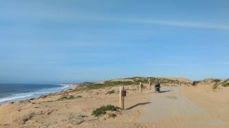 Marina bike path