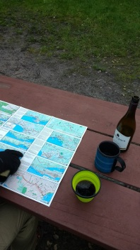 Route planning over wine