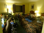 Our motel room