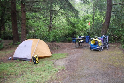 Sunset Bay campsite