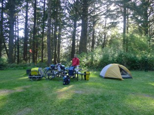 Beverly Beach campsite