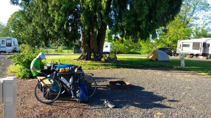 Campsite at Bayport